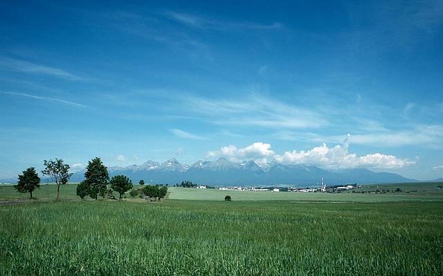 Panorama Hohe Tatra