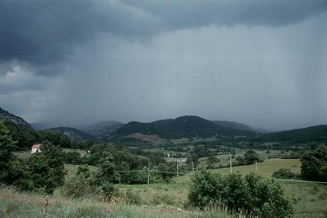Gewitter bei Carovilli